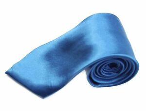 CHEAP-8CM-MENS-SANTORINI-BLUE-TIE-Necktie-Neck-Tie-Ties-Wedding-Formal-Bargain