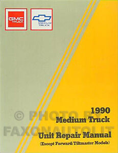 chevrolet kodiak manual transmission