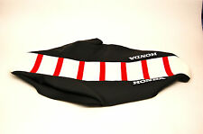 New CR125 1993-94, CR250 1992-94 Red,White,Black Ribbed Honda Seat Cover