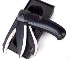 Haller Gürtelmesser Fahrtenmesser Outdoormesser Kunststoff mit Etui 61713 NEU