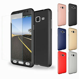 For-Samsung-Galaxy-J3-J5-J7-2015-2016-2017-Case-Cover-Glass-Screen-Protector