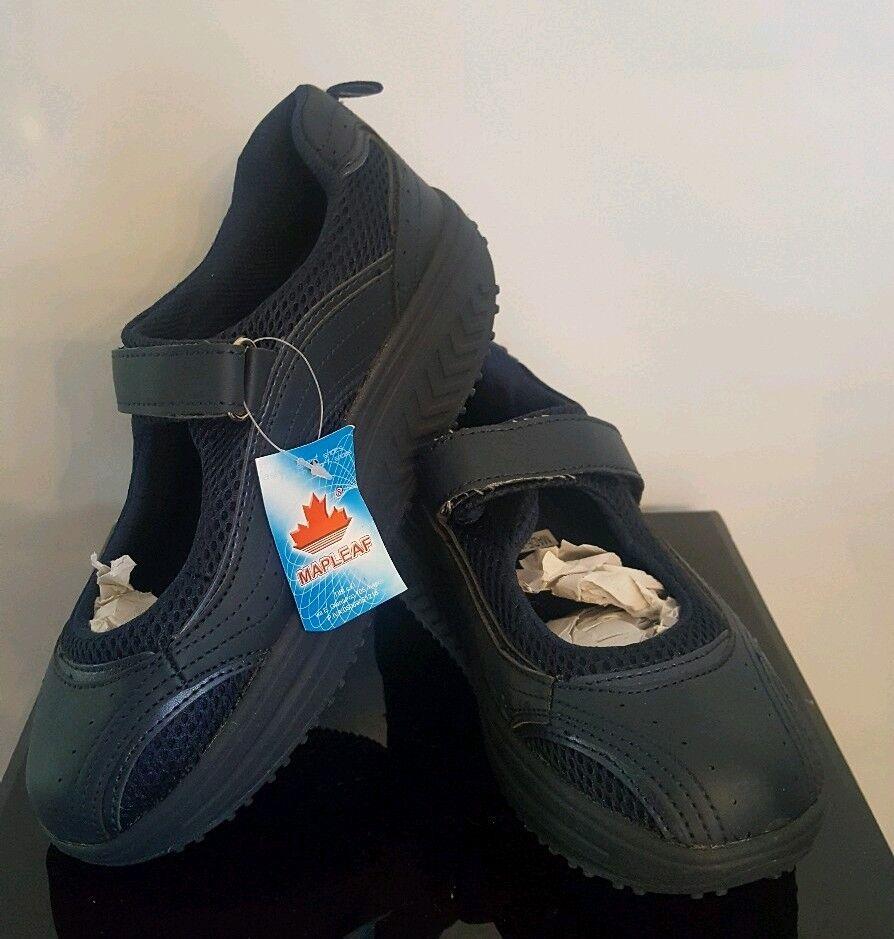 Mapleaf Ladies Shape-Up Toning Sandal Sports Fashion shoes -bluee Navy Eu 36 UK 3