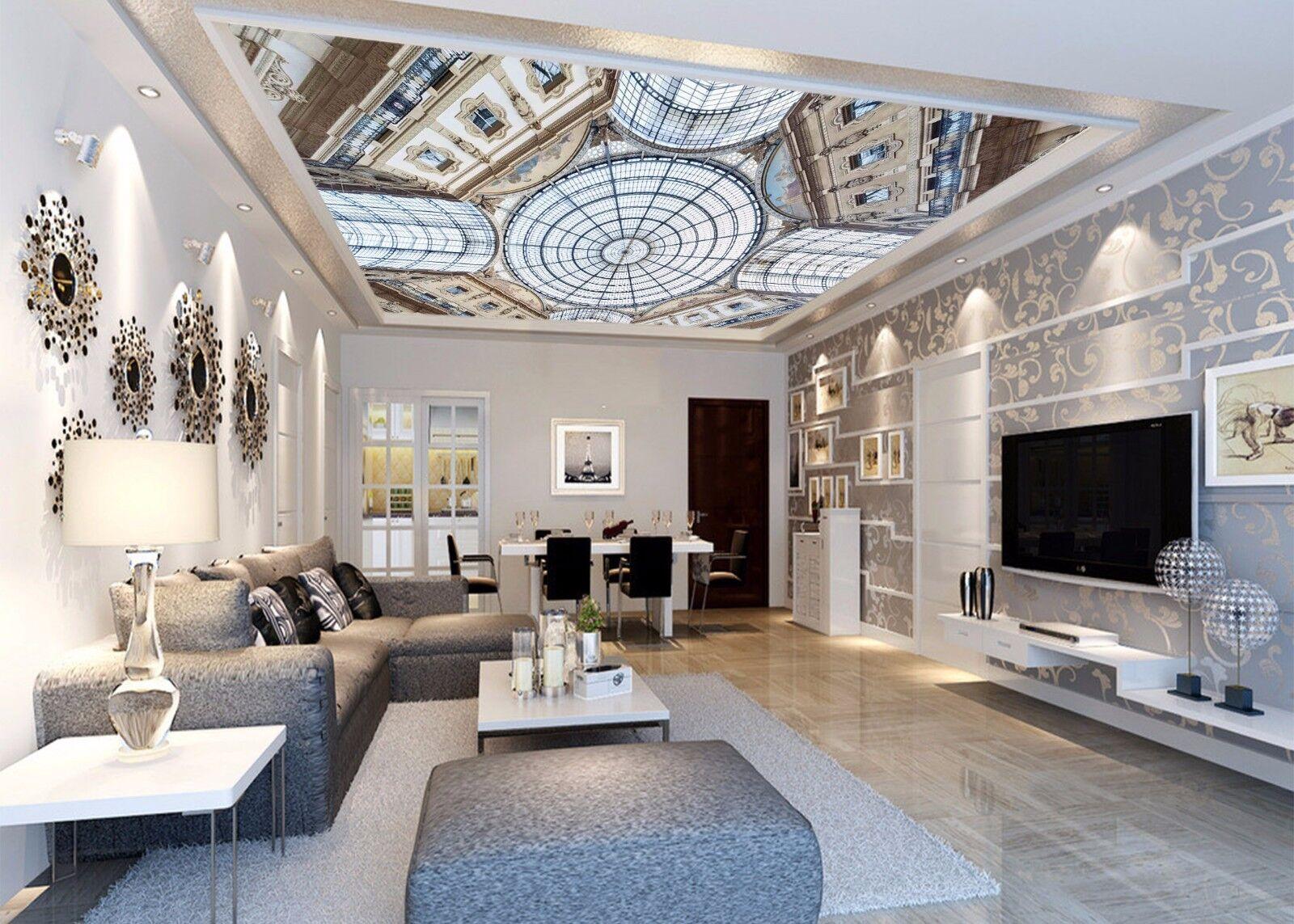 3D House Roof 885 Ceiling WallPaper Murals Wall Print Decal Deco AJ WALLPAPER GB