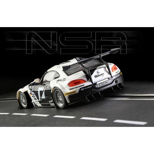 NSR 0011AW BMW Z4 Noir /Blanc    n.76 FIA GT3 European Championship 2010 - AW King b45276