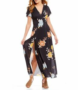 8aa8d2bcaca Image is loading New-French-Connection-Shikoku-Floral-Jersey-Maxi-Dress-