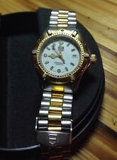 Ladies Tag Heuer Professional 200m 2 tone band - water resistant   year1996