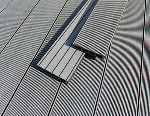 Wpc Terrasso Terrassendielen Terrassenbelag Basalt Grey Balkon Pool