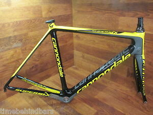 ebceef81dac Image is loading CANNONDALE-SUPER-SIX-CARBON-ROAD-BIKE-FRAME-SET-
