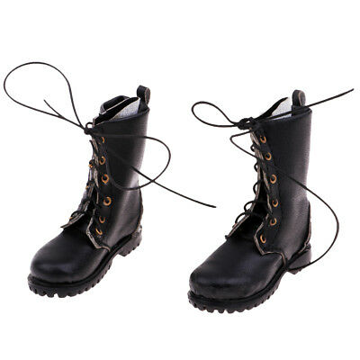 1//6 Scale Accessories 18X02 Long Short Combat Leather Boots//Shoes Dual Use A