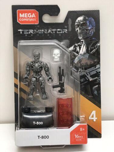 T 800 GCL95 Heroes Terminator Series 4 New Mega Construx