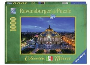 NEW-RAVENSBURGER-Puzzle-1000-Tiles-Pieces-Jigsaw-Palace-of-Fine-Arts-Mexico