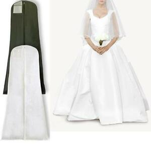 BREATHABLE-DRESS-COVER-BAG-CLOTHES-GARMENT-GOWN-SUIT-COAT-SHIRT-PROTECTOR-TRAVEL