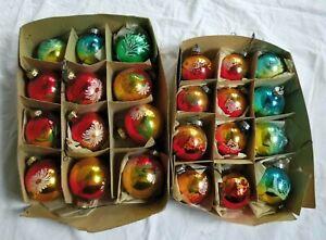 DDR-Weihnachtsbaumkugeln-mit-Seltenem-Motiv-Ente-Teddy-Fisch-Vogel