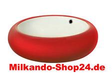 Keramik Aufsatzwaschbecken Waschbecken Waschtisch Waschschale Rot