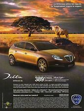 Publicité Advertising LANCIA DELTA platino diesel