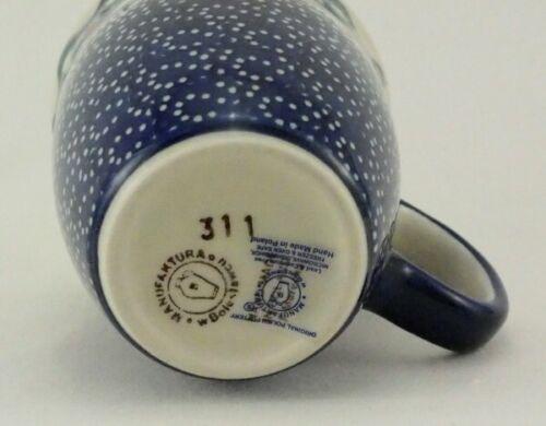 k081-DPMA 0,3 litres bateaux à voile Bunzlauer céramique tasse de Mars-bleu//blanc