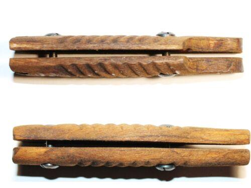 Plaquettes de baionnettes en bois pour baionnette MAUSER G.98  n.2