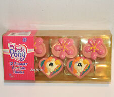 Hasbro My Little Pony Pink Flowers 12 Bathroom Shower Curtain Hooks Licensed