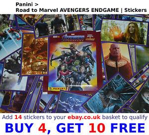 Road to Endgame Sticker 2 Marvel Avengers Panini