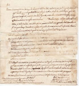 1658-BOLOGNA-ITALY-PRE-STAMP-LETTER-TO-PARMA-EMBOSSED-PAPER-SEAL-ITALIE