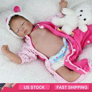 22-034-Reborn-Dolls-Lifelike-sleeping-Newborn-Babies-Vinyl-Silicone-Belly-Baby-Doll