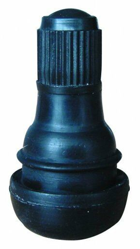 100 x TR412 Short Tubeless Rubber Tyre Valves & Metal Valve Puller Tool