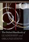 The Oxford Handbook of Leadership and Organizations by Oxford University Press (Hardback, 2014)