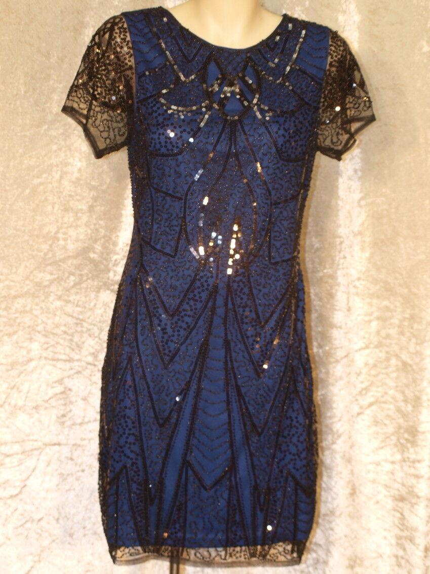1920's Sequin & Bead Dress in Art Nouveau Design