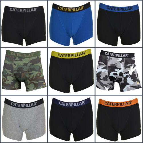 Great Value Assorted 4 Pack All Sizes CAT Mens Boxer Shorts // Trunks