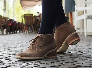 Clarks-Originals-Schuhe-PHENIA-CARNABY-braun-Leder-Ankle-Boots-NEU-Stiefelette