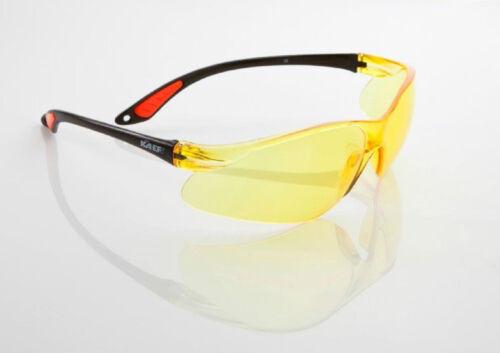 3x KA.EF UV-Schutz Schutzbrille VIEW//gelb CE EN170 ANSI Z87.1 EN166