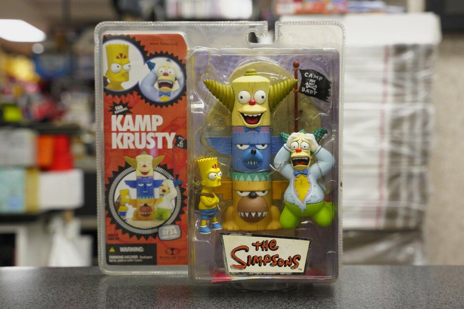 Simpsons Kamp Krusty Macfarlane Leksaker