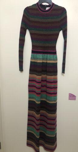 Vintage Womens Roncelli Long Sleeves Wool Blend K… - image 1