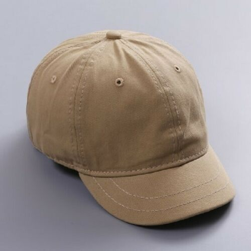 Short Brim Baseball Cap Men Women Adjustable Trucker Summer Hats Casual Snapback