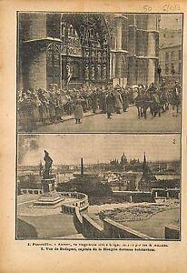 Funerailles-Cathedrale-Notre-Dame-d-039-Anvers-Antwerpen-Pays-Bas-1919-ILLUSTRATION