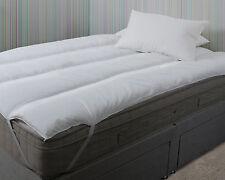 Super King Ikea Size Pure Comfort Polycotton Mattress Topper Reviver 180 x 200cm