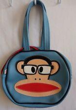 Paul Frank 2004 Julius the Monkey Round Blue Handbag Medium Purse