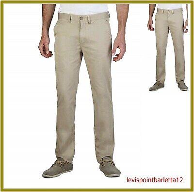 Geox Pantaloni Da Uomo In Di Cotone Estivi Regular Chinos Elasticizzati 48 50 58 Design Accattivanti;