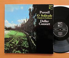 HM 247 Purcell O Solitude Deller Consort 1978 Harmonia Mundi NM/EX Gatefold