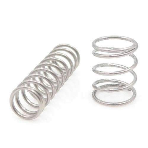 10PCS 0,8mm Compression Spring Length 304 Stainless Steel Pressure small feathers all size 10-50M