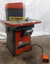 10 X 10 X 18 Comaca Model Ehn 260 Unipunch Hydraulic Notcher Ybm 12983