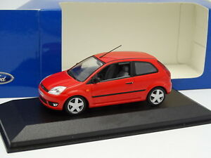 cc853af7923 Details about Minichamps 1/43 - Ford Fiesta 3 Doors Red