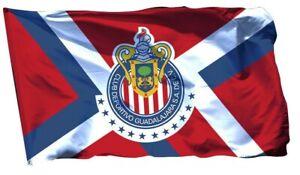 Chivas-GUADALAJARA-Flag-Banner-3x5-ft-Jersey-Mexicoe-Soccer-Bandera-Futbol