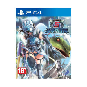 Earth-Defense-Force-5-PlayStation-PS4-2018-English-Chinese-Factory-Sealed