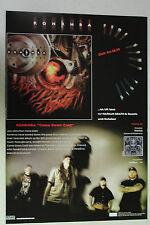 """KONKHRA """"Come Down Cold"""" Full Page AD magazine clipping rare 1999"""