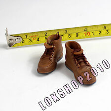 """1/6 HOT 12"""" figure female sand boots (boots fit over the feet) TOYS XE64-04"""
