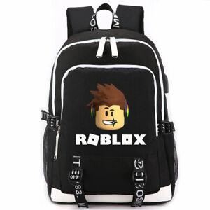 Roblox Backpack Kids School Bag Boy Girl Students Bookbag Travelbag Shoulder Bag
