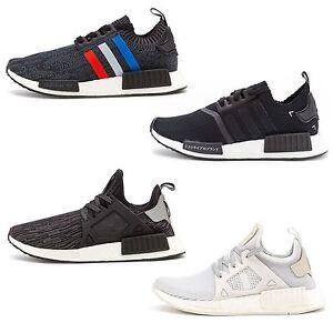 Adidas НПРО XR1 Pk Primeknit бордовый/бордовой/белый BB2368