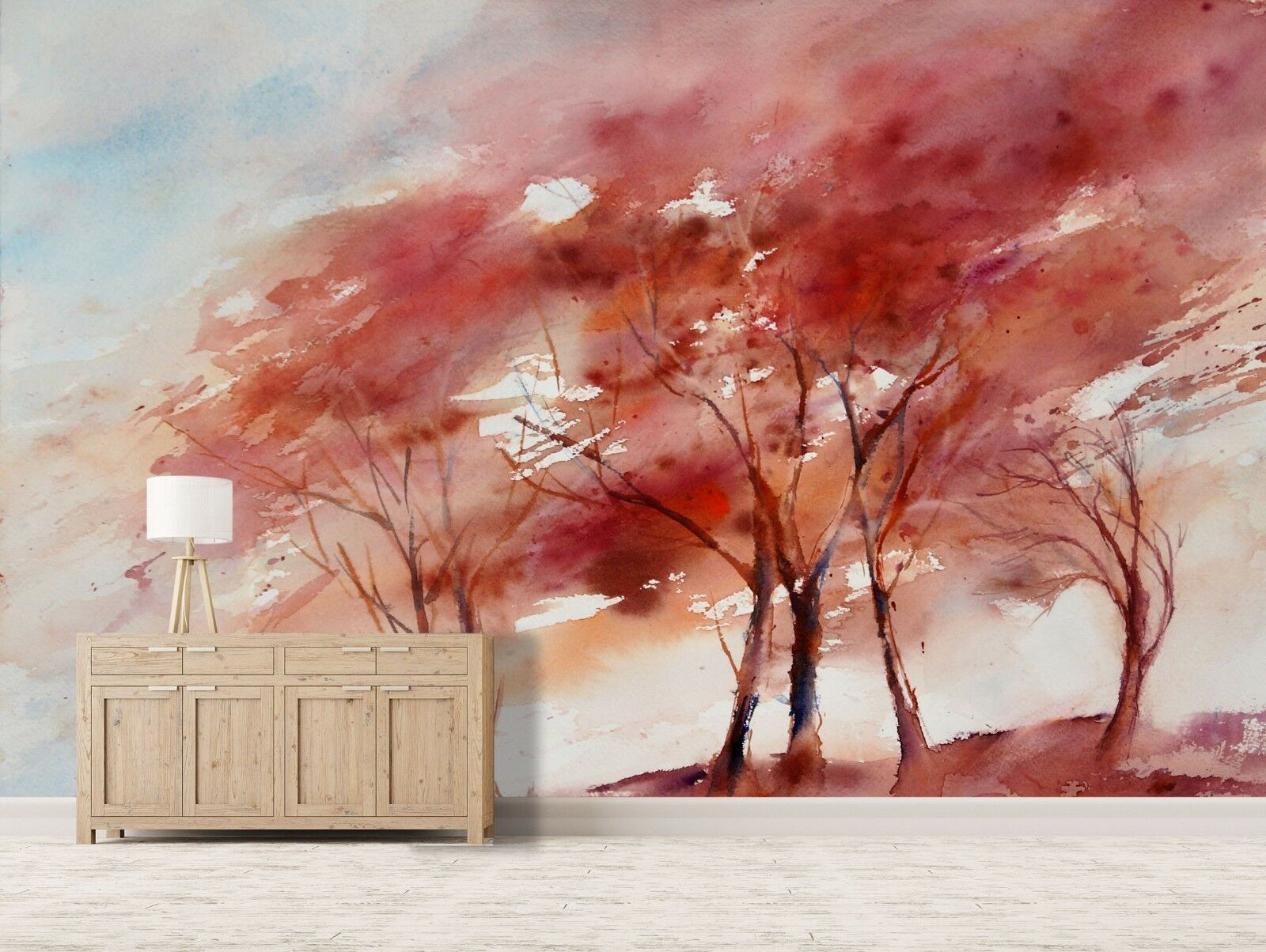 3D Tree Oil Painting 76 Wallpaper Mural Paper Wall Print Murals UK Jenny