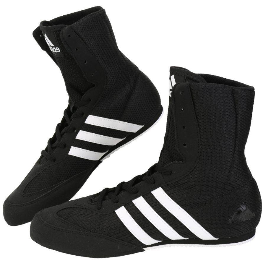 Zapatos  Zapatos de lucha Adidas Caja Hog2 Boxeo MMA Zapatos   Negro BA7928 aef778
